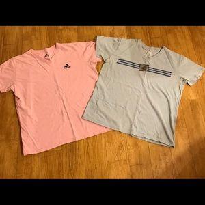 2 Adidas T-shirts